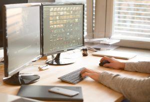 16zu9 Videoproduktion Desktop Bearbeitung Work arbeiten