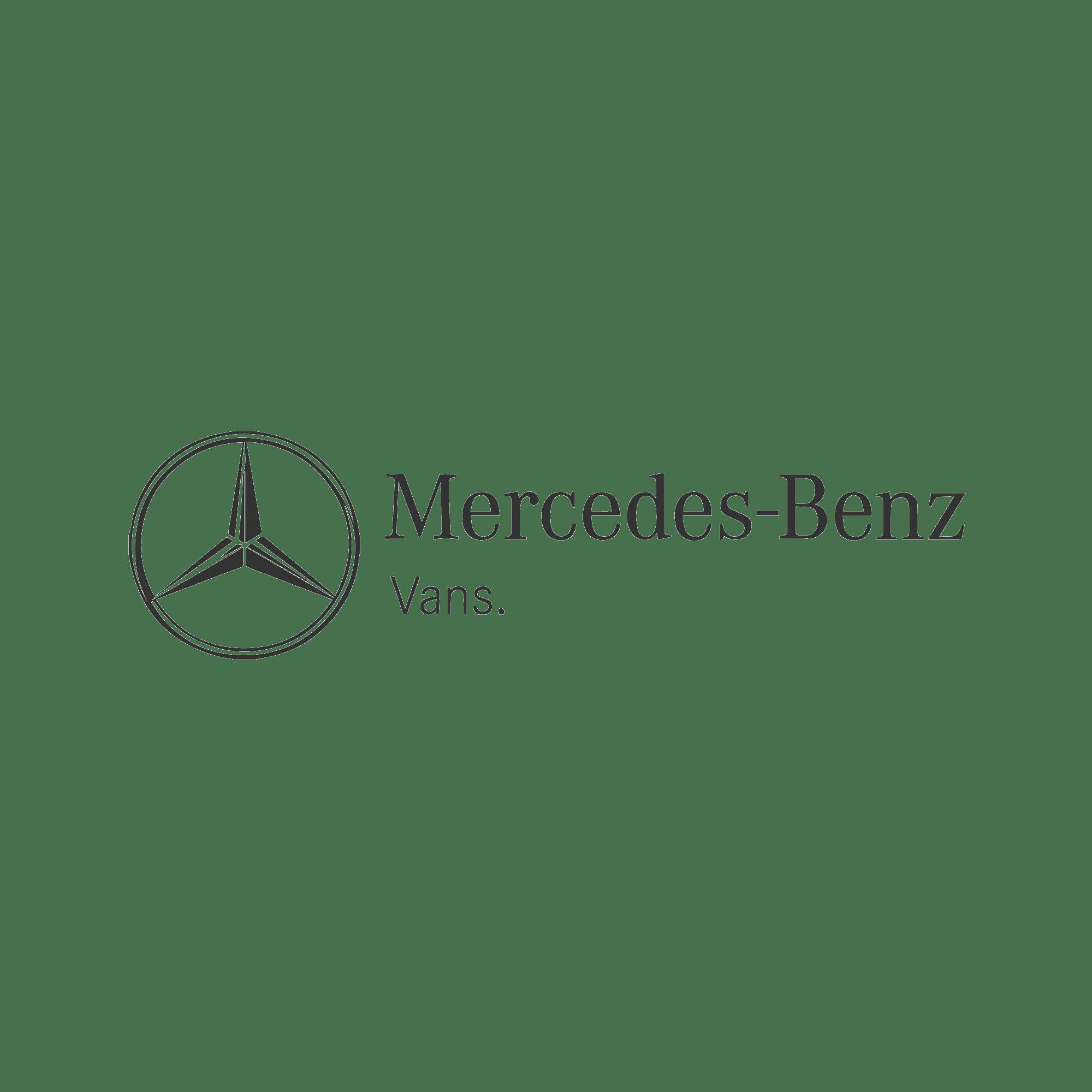 16zu9 mercedes-Benz vans kundenlogo