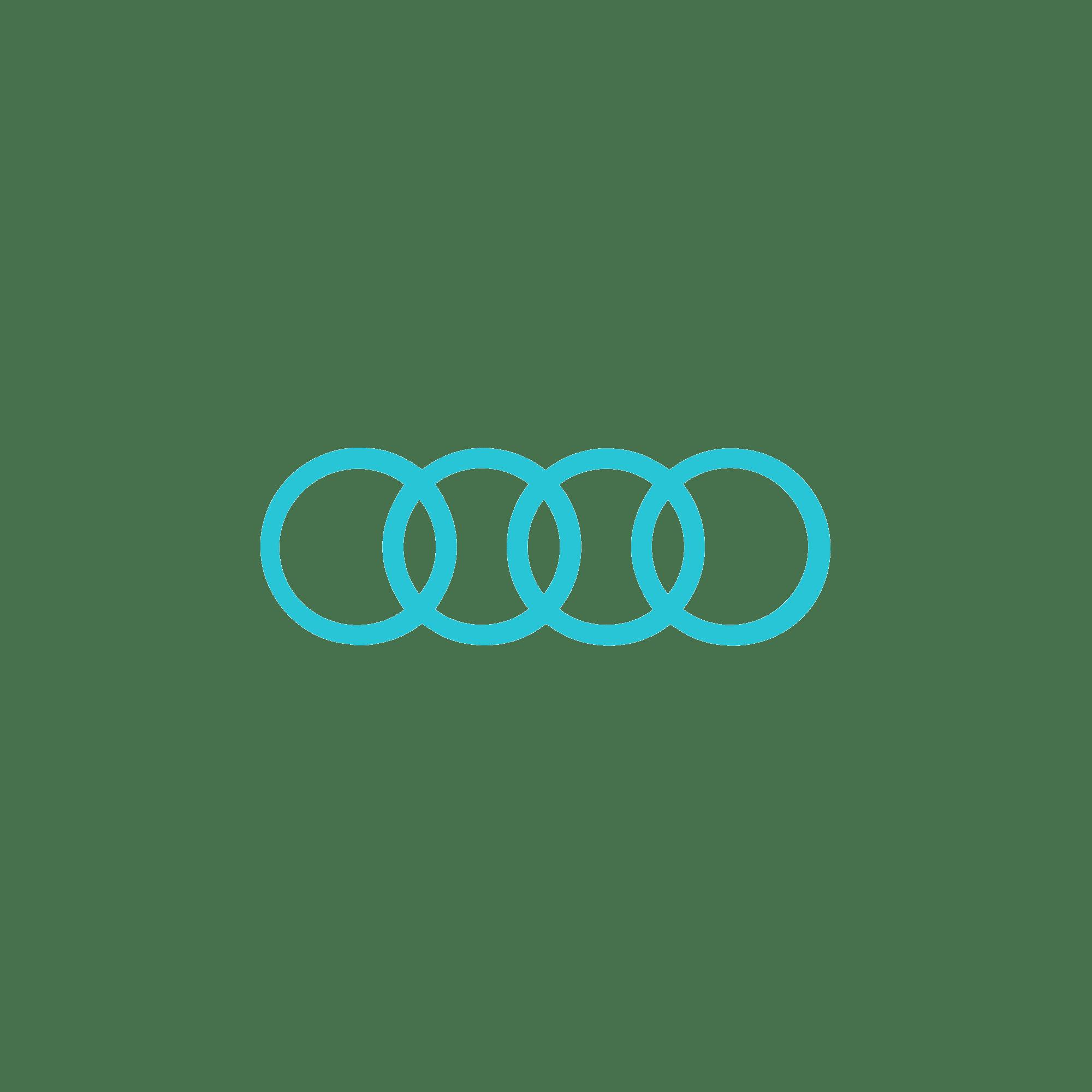 16zu9 Audi Kundenlogo türkis