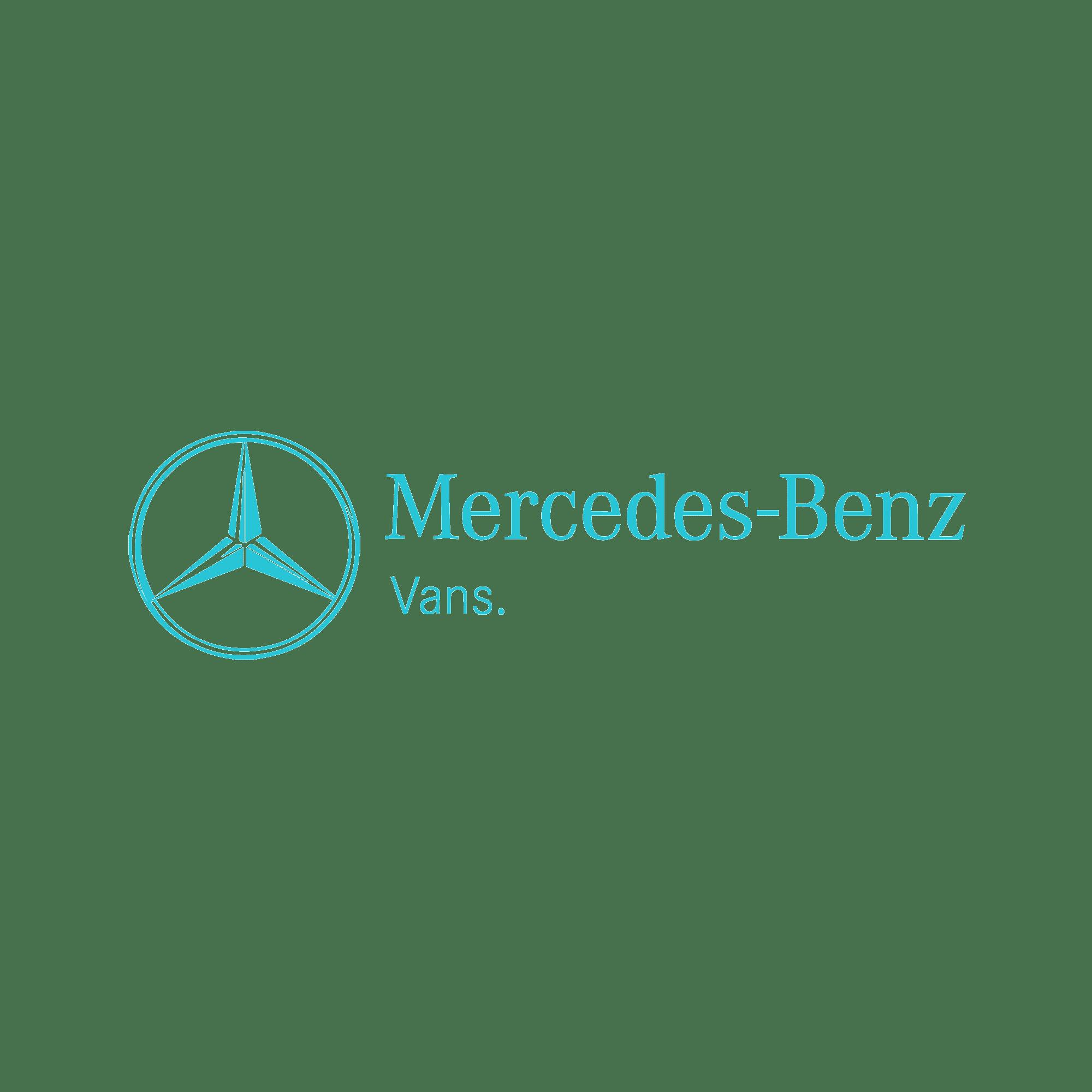 16zu9 mercedes-Benz vans kundenlogo türkis