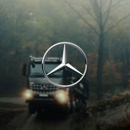 Videoproduktion Mercedes-Benz Aroc Thumbnail