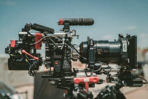 16zu9 equipment camera red